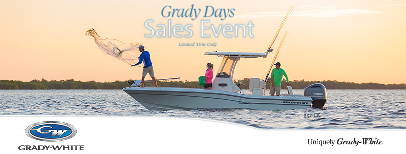 Grady-White Grady Days Sales Event