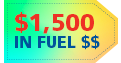 Receive Up to $1500 in Fuel