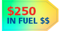 Receive Up to $250 in Fuel