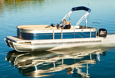 Crest Pontoon Boats for Sale - MarineMax