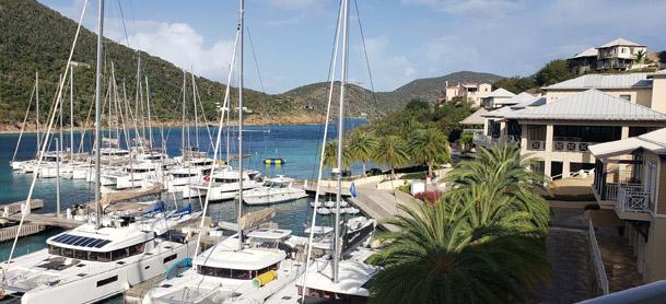 View of the Marina at Scrub Island Resort and Spa