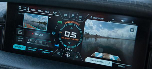 technology on boat