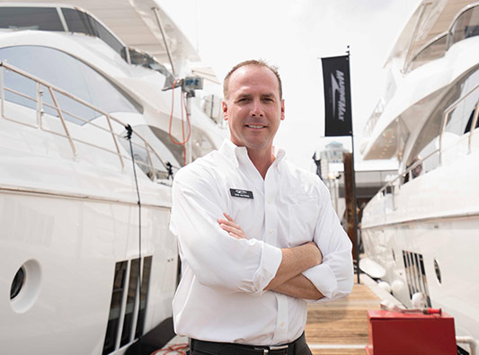 MarineMax Team Member ready to help you