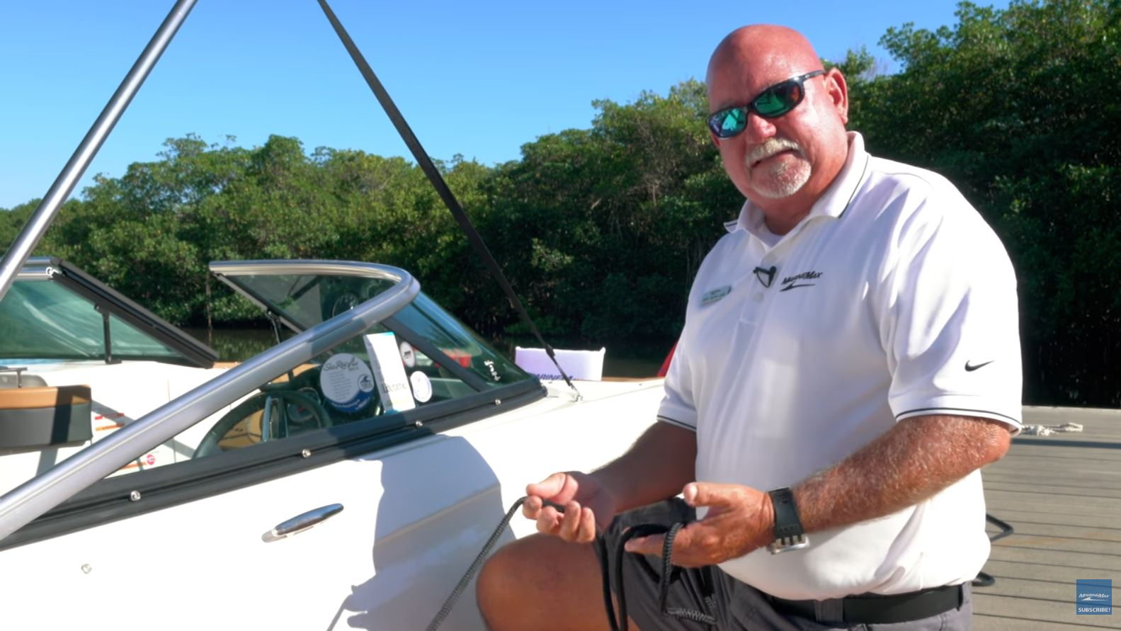 Boating Tips Video for Tying Dock Lines
