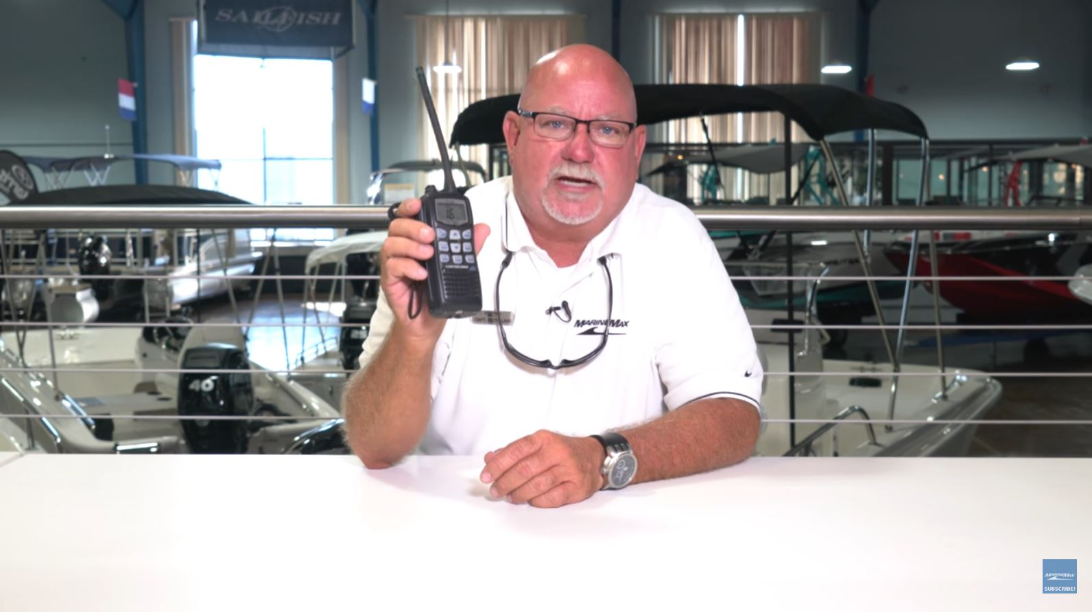 Boating Tips Video for VHF Radio use