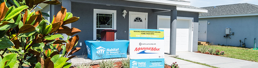 The MarineMax Habitat for Humanity home