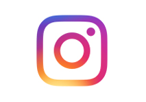 instagram logo rounded square with circle in the middle with rainbow gradient