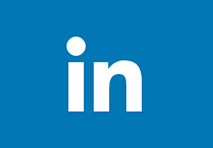 linkedin logo light blue square with white in in the middle