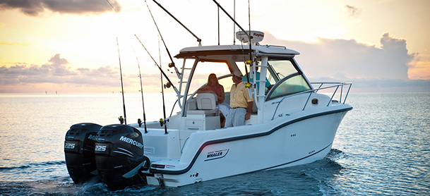 A Boston Whaler Conquest