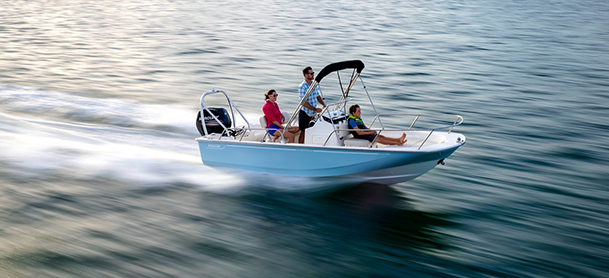 A Boston Whaler Montauk