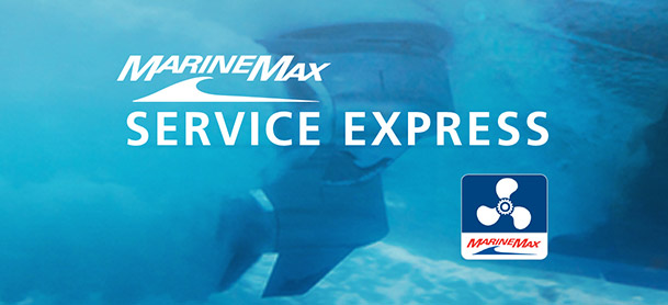 Schedule your service with the MarineMax Service Express App