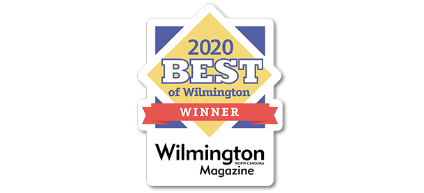 Award for 2020 Best of Wilmington Winner by Wilmington Magazine