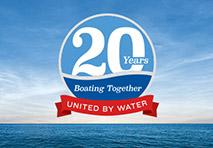 MarineMax 20th Anniversary Logo