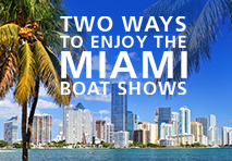 the miami boat show and online boat show