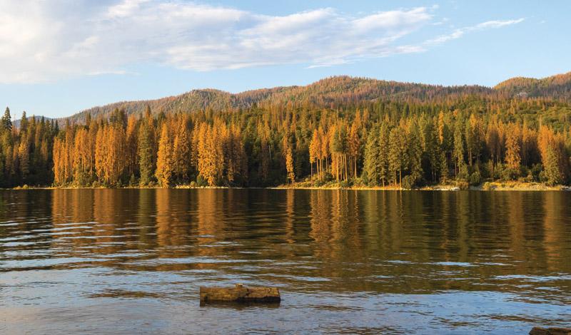 Bass Lake in Yosemite