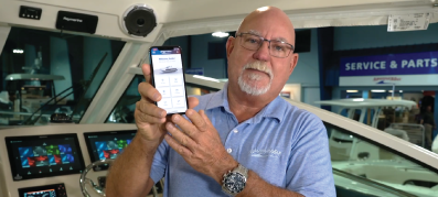 MarineMax Service Manager introducing a MarineMax App