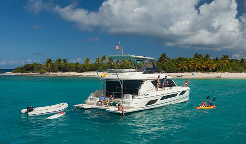 marinemax vacation power catamaran in the british virgin islands