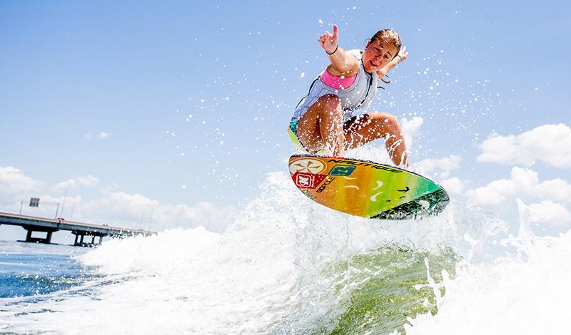 Wakesurfing Boostin Air
