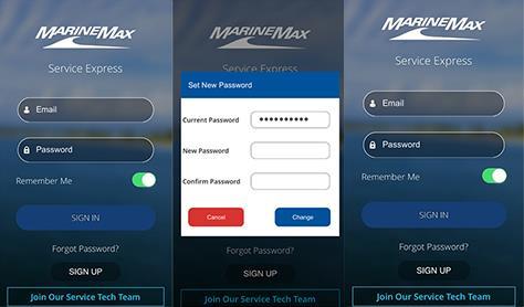 Service Express App Images