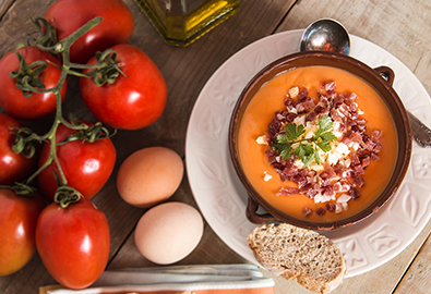 Salemorejo chilled soup