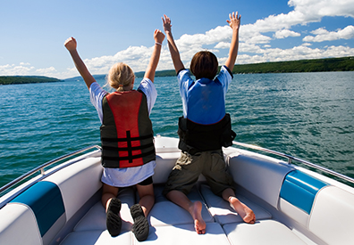 Boating Safety Landing Page Image