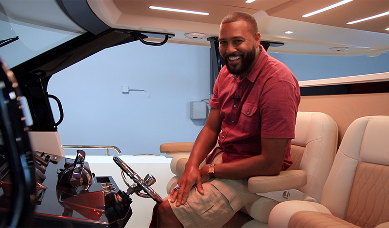 an interview with michael clayton at marinemax clearwater