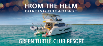 Boating Broadcast Green Turtle Club in Bahamas