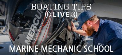 Boating Tips Live Episode 22: Marine Mechanic School