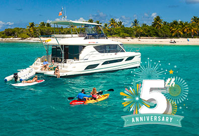 MarineMax Vacations 5th Anniversary