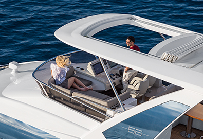 The Azimut Flybridge Collection