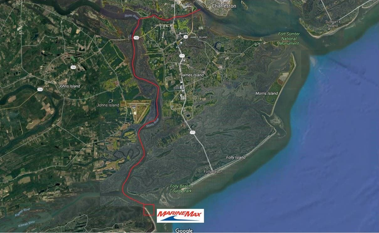 kiawah day map