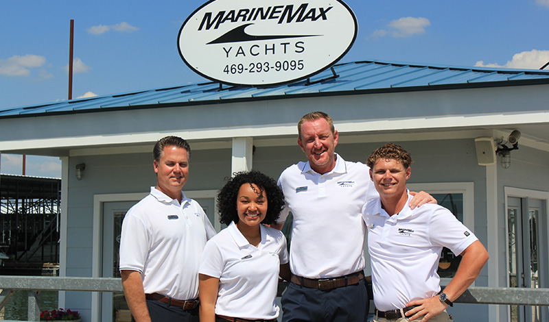 marinemax dallas yacht center team members