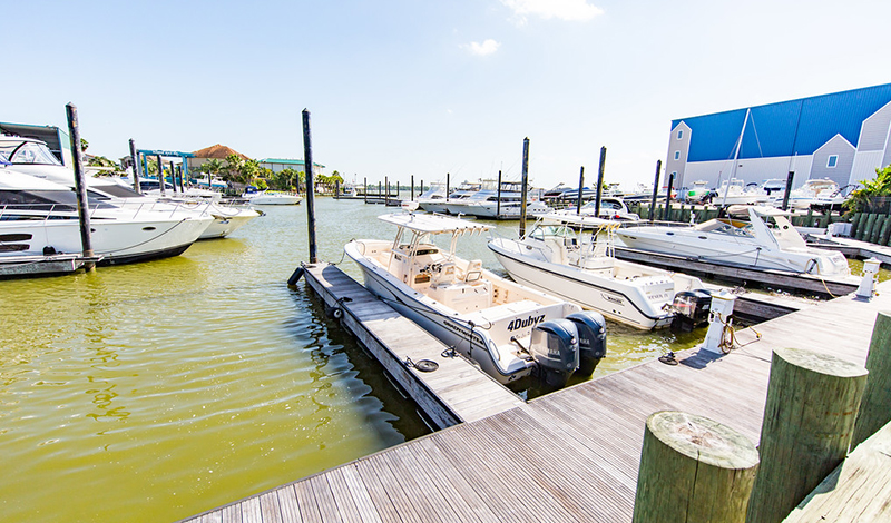 MarineMax Houston dock and boats