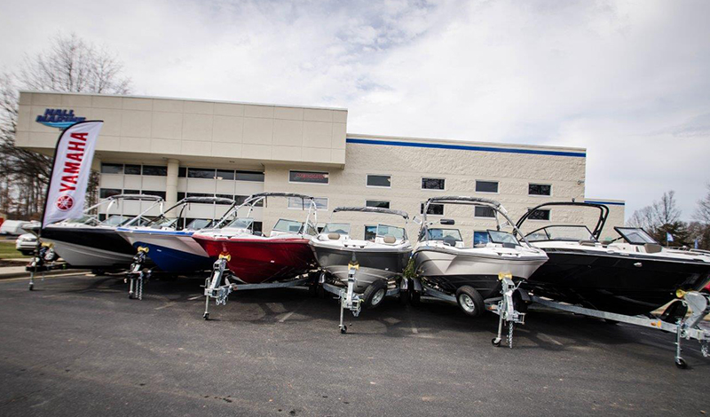 marinemax lake norman store front and boats parked in front
