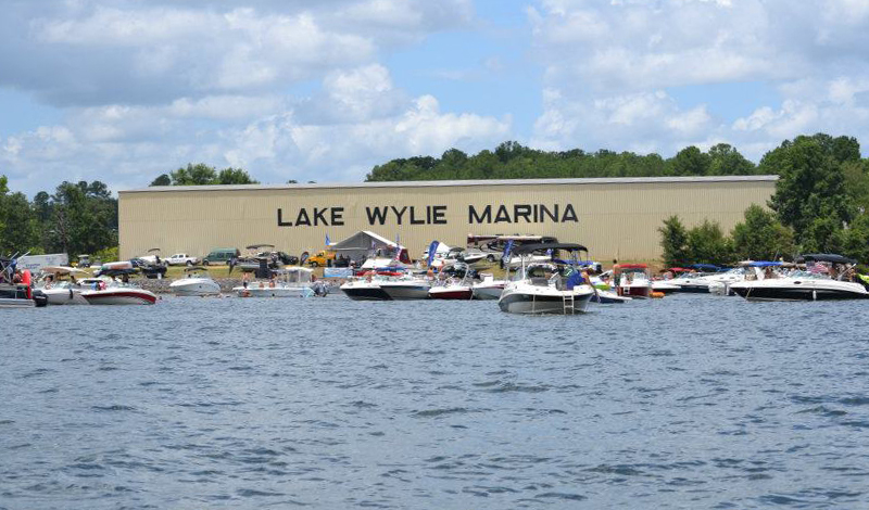 marinemax lake wylie store front river view