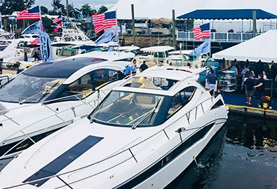 norwalk boat show  2019 at cove