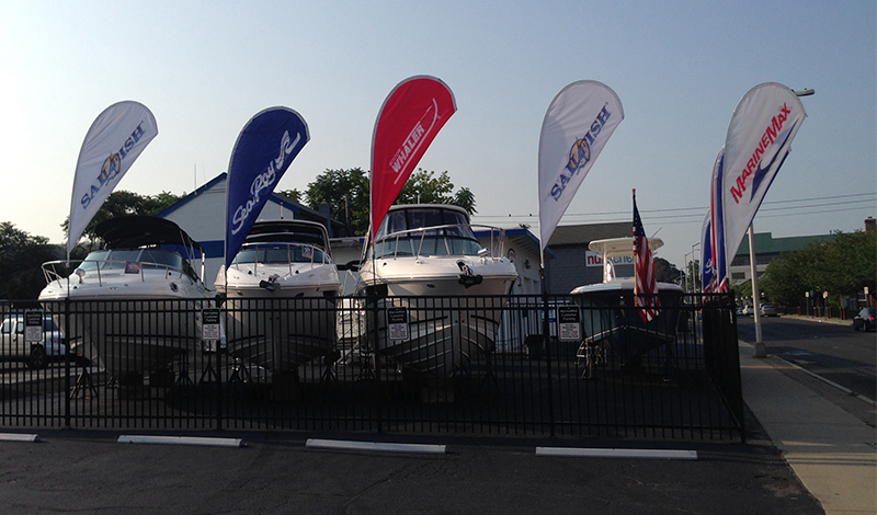 marinemax norwalk boats and flags