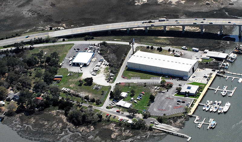marinemax savannah store aerial view