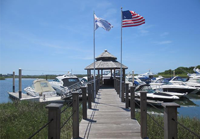 MarineMax Wrightsville Beach dock and boats
