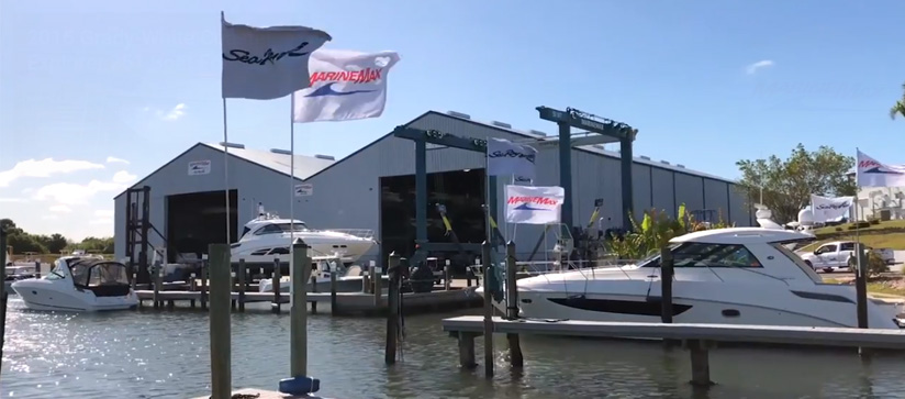 View of the MarineMax Venice facility