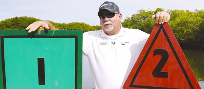 Captain Keith explains how to understand channel markers