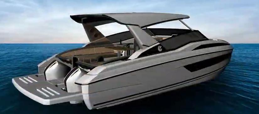 aquila 30 boat design preview