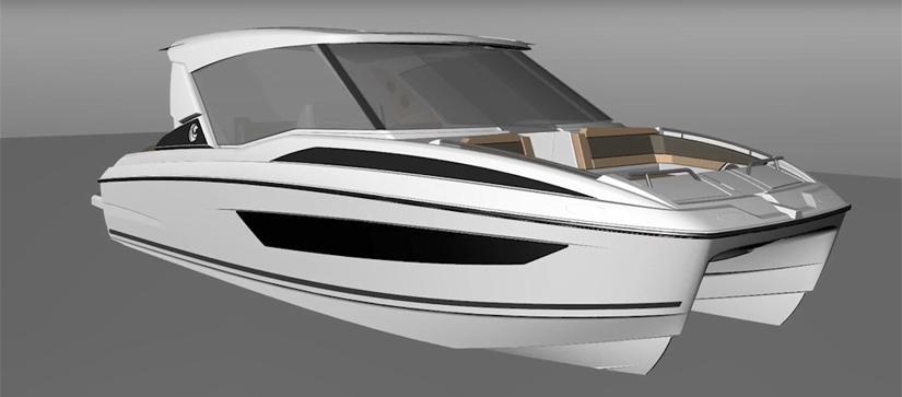 Aquila 30 Power Catamaran Video