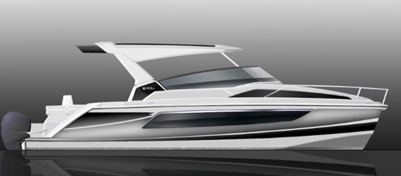 rendering of boat