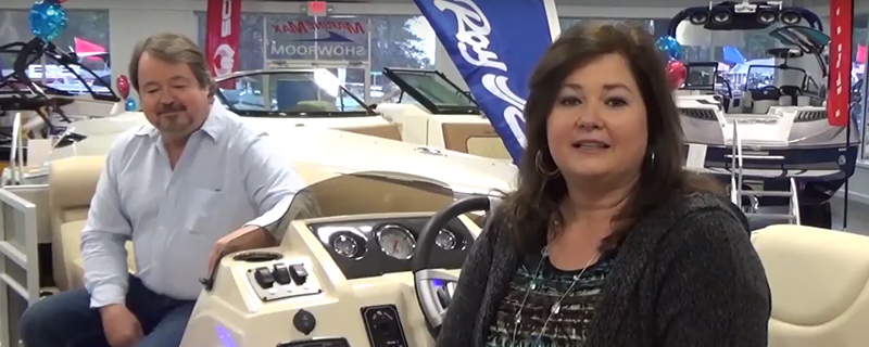 Crest Pontoons Testimonial from Family Video
