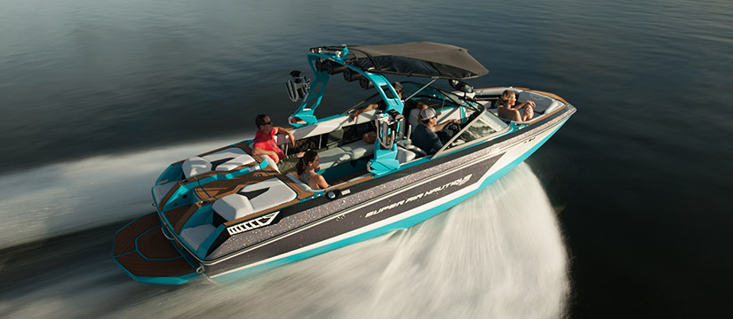 People on board of a boat - First Impressions of the Super Air Nautique GS22 on Video