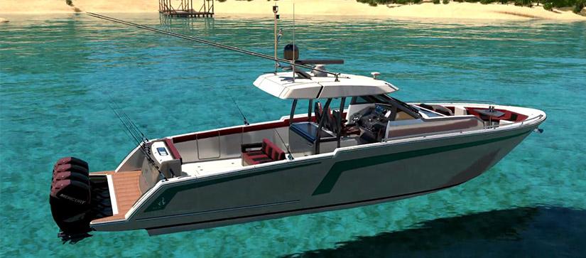 Ocean Alexander 45 divergence fishing edition