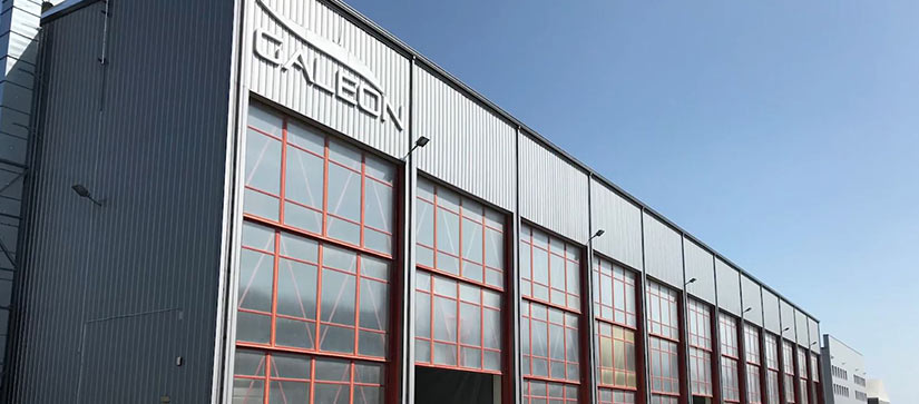 Galeon factory building