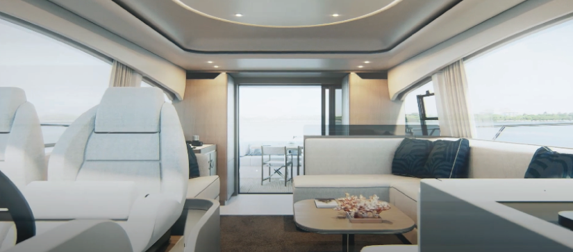 Azimut 53 Interior view