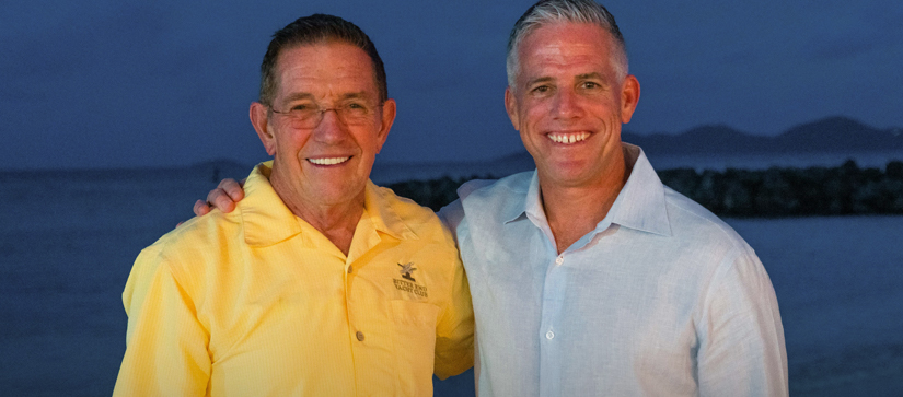 MarineMax CEO Brett McGill and Executive Chairman of the board Bill McGill